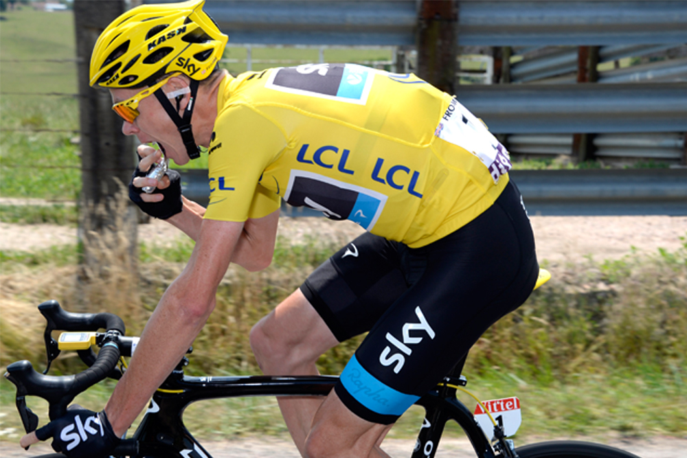 Proof that Chris Froome is not on a low-carb diet
